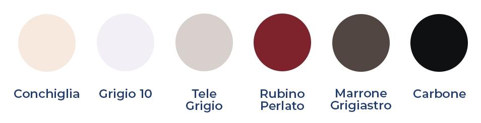 colori letto contenitore